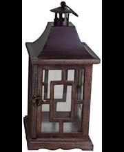 House lyhty 35 cm ruskea