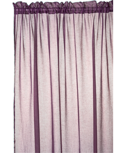 HANNA CURTAIN-PURPLE -...