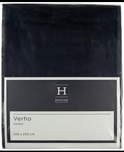 Hanna curtain-black