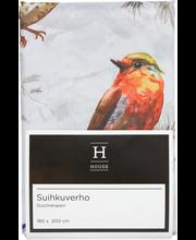 Suihkuverho birds