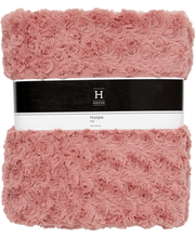 HUOPA ROSE - Throw rose