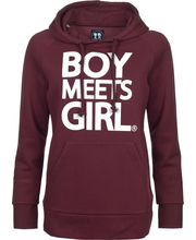 Boy meets girl flow bg1288r l24 naisten collegehuppari 0b4200892e