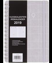 Vuosikalenteri a5, ruutu