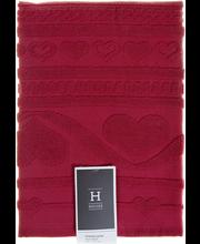 House Lovely käsipyyhe 50x70cm punainen