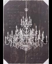 Ledtaulu chandelier 50x70