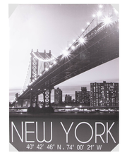 Ledtaulu new york 85x113