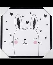 Taulu rabbit 35x35cm