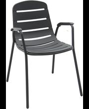 House pinottava tuoli muovia antrasiitti
