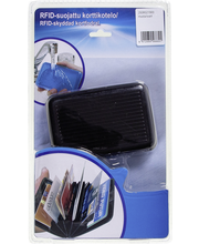 Korttikotelo RFID-suojattu 9x11cm