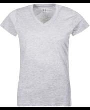 Naisten t-paita v-pääntie