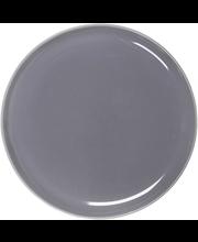 Lautanen 25cm harmaa