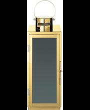 Lyhty metalli 32cm kulta