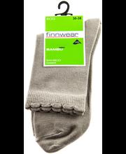Finnwear Socks naisten Bambu nilkkasukat