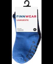 Finnwear Socks lasten nilkkasukat Liukkarit 2-pack