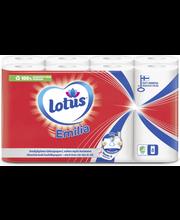 Lotus Emilia talouspyyhe valkoinen 3x8rll säkki