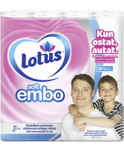 Lotus Soft Embo WC-paperi 32 rll
