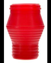 Kynttilä-Tuote Puutarhalyhty ulkokynttilä punainen 10h