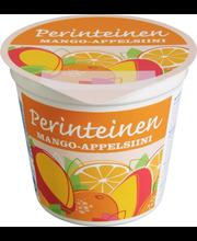 Perinteinen 150 g mango-appelsiini jogurtti