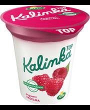 Arla Kalinka Top 150 g vähälaktoosinen vadelmakerrosjogurtti