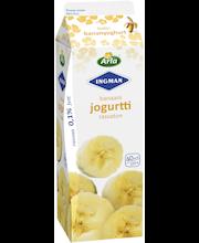 Arla Ingman 1kg rasvaton banaanijogurtti
