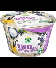 Arla Keittiö 200 g mustikka-vanilja maustettu laktoositon rahka