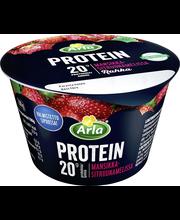 Arla Protein 200 g mansikka-sitruunamelissa laktoositon proteiinirahka