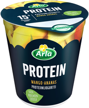Arla Protein 185 g laktoositon Mango-ananas proteiinijogurtti