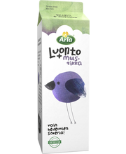 Arla 1 kg Luonto +  mustikkalaktoositon jogurtti