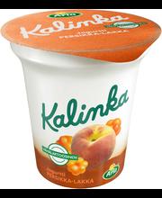 Arla Kalinka 150 g persikka-lakka  vähälaktoosinen kerrosjogurtti