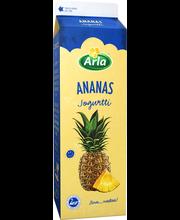 Arla 1 kg kausimaku Ananas  jogurtti