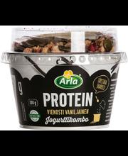 Arla Protein 200g jogurttikombo vanilja laktoositon rahkajogurtti