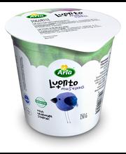 Arla Luonto+ 150g laktoositon mustikkajogurtti
