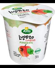 Arla Luonto+ 150 g Omena-pinaatti laktoositon jogurtti