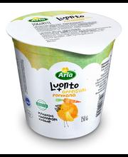 Arla Luonto+ 150 g  Appelsiini-Porkkana laktoositon jogurtti