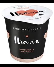 Arla Ihana 150g Rahkaisa Romanovin mansikat laktoositon jogurtti