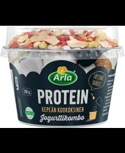Arla Protein 200 g Jjogurttikombo Kausimaku kookos laktoositon rahkajogurtti