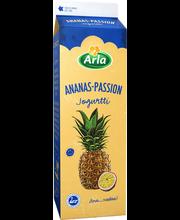 Arla 1kg ananas-passionjogurtti