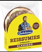 OULULAINEN Reissumies Eväsleipä 160g Klassikko kinkku-juusto-muna  täytetty täysjyväruisleipä