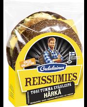 OULULAINEN Reissumies Tosi Tumma Eväsleipä 180g Härkä häränjaulih-juusto-majon täytetty täysjyväruisleipä