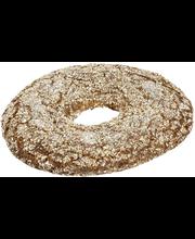 OULULAINEN RuisSata 100% Ruisleipä 300g myymäläsulatus kypsä sulatettava pakasteleipä