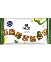 FAZER Rye Snacks Roasted Vegetables 150g snack