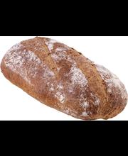 Fazer Kiireetön Kaura-siemenleipä 400g/390g myymäläpaisto esikypsennetty pakasteleipä