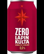 Lapin Kulta Arctic Malt Tumma 0,0% alkoholiton olut 0,33 l tölkki