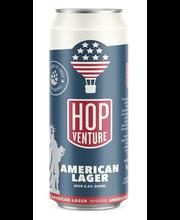 Hopventure American Lager 4,6% 0,5 l tölkki