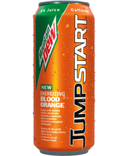 Mountain Dew Jumpstart Blood Orange virvoitusjuoma 0,44 l