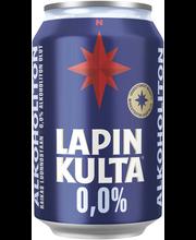 Alkoholiton olut 0,33 l