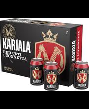 Karjala 4,5% olut 0,33 l tölkki 24-pack