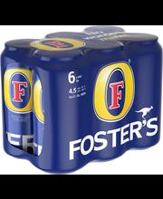 Foster's 4,5% olut 6x0...