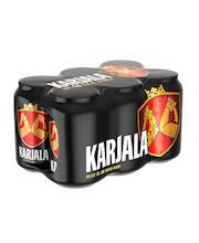 Karjala 4,6% beer 0,33l can 6-pack, 4x6/tray