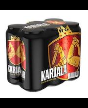 Karjala III olut 4,6% 0,5l tölkki 6x0,5l 4x6-pack tray